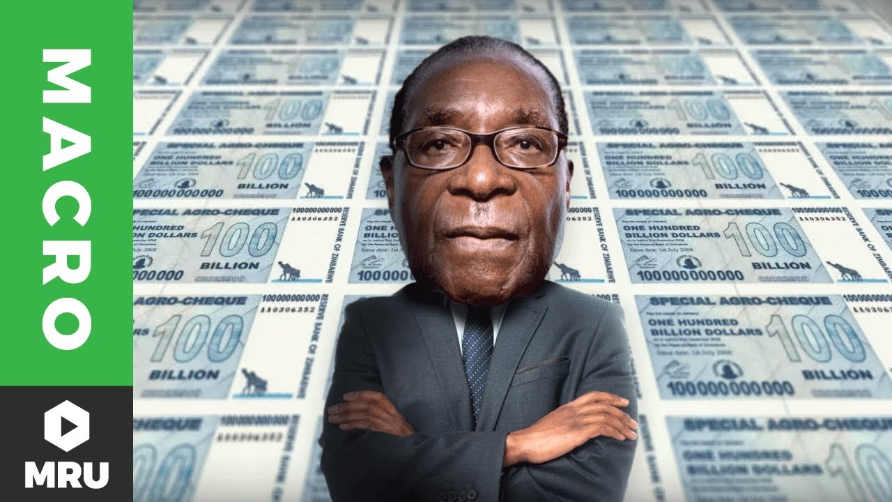 Image result for hyperinflation in zimbabwe