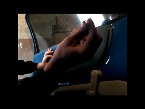 Как снять обшивку карту передней двери VW LUPO-SEAT AROSA/demontaz Boczka Drzwi Przod/door Panel Rem