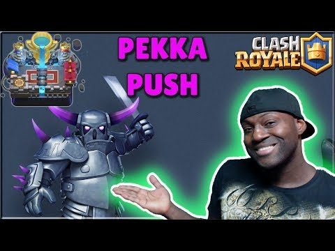 🌟CLASH ROYALE🌟 I AM 2 WINS AWAY FROM ARENA 12 - WILL PEKKA GET ME THERE?