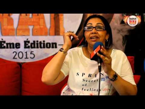 Cheba Zahouania au Festival International du Rai OUJDA 2015