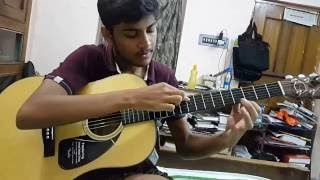 thunderstruck luca stricagnoli covered by soumyajit pyne ac dc acoustic guitar
