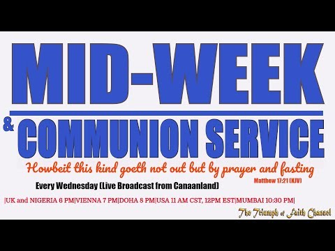 Mid-Week Communion Service,  November 22,  2017
