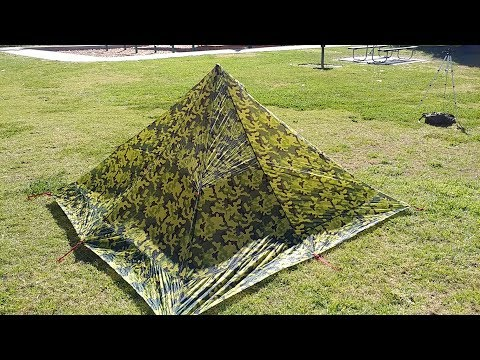 DESERT WALKER ULTRALIGHT 4 SEASON PYRAMID TENT