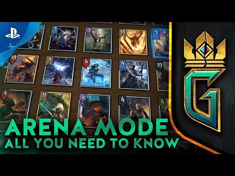 GWENT: The Witcher Card Game - Arena Mode: All You Need To Know | PS4