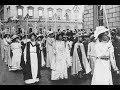 La lucha de las sufragistas británicas por el derecho a voto