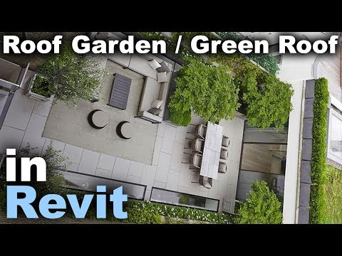 Roof Garden / Green Roof in Revit Tutorial