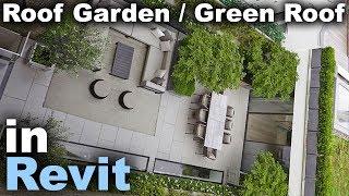 Roof Garden / Green Roof In Revit Tutorial - YouTube