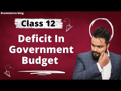 Class 12 macroeconomics(measures of budget deficit and implications) economics on your tips video 71
