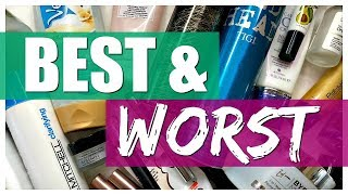 BEST & WORST | What I've Used Up // Empties