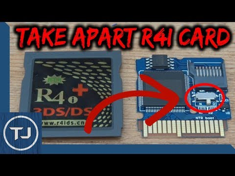 How To Open R4i Card To Access NTRBootHax Switch!