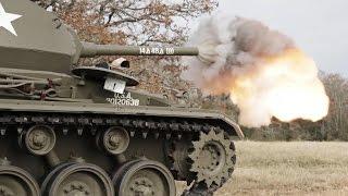 Игромания на настоящих техасских танках - War Thunder