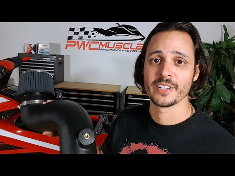 Yamaha GP1800 Air Intake And Ribbon Delete Install - Presented By PWCMuscle