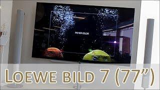 Loewe bild 7 OLED 77 Zoll - Hands on