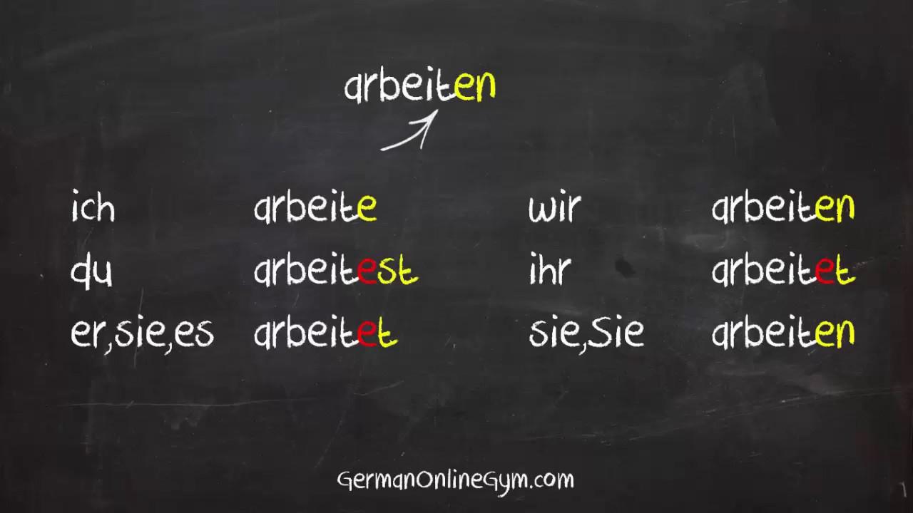 German Verbs: Review Activities by Frau Leonard | TpT
