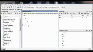 tutorial matlab 1  español introduccion operaciones basicas ORTEGA