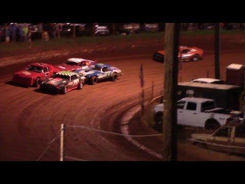 Winder Barrow Speedway Stock Eight Cylinders Feature Race 8/17/19
