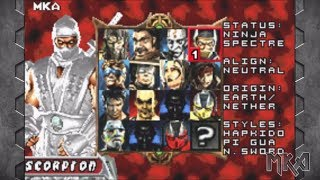 Mortal Kombat Tournament Edition (GBA) with download link