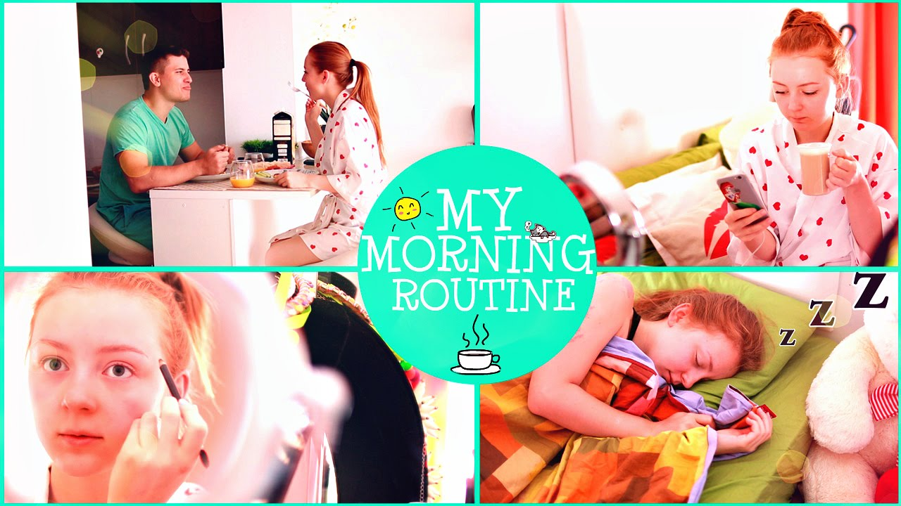 MY MORNING ROUTINE | МОЕ УТРО! | MAKEUPKATY