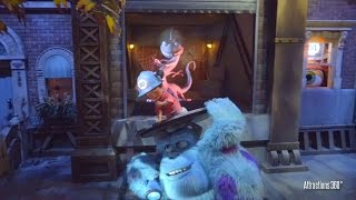 [4K] Interactive Monsters Inc. Ride & Go Seek! - Popular Ride at Tokyo Disneyland
