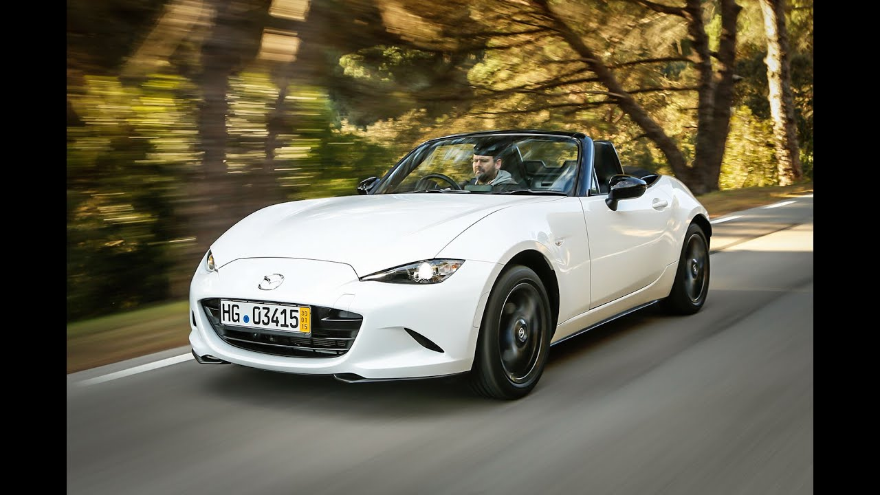 2015 Mazda MX-5 driven - first verdict - car review - YouTube