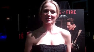 tina grey from red carpet drive interviews jewel at lifetime ring of fire acm experience