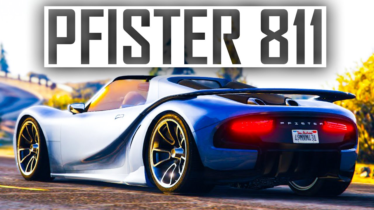 gta online new dlc pfister 811 customisation showcase best new
