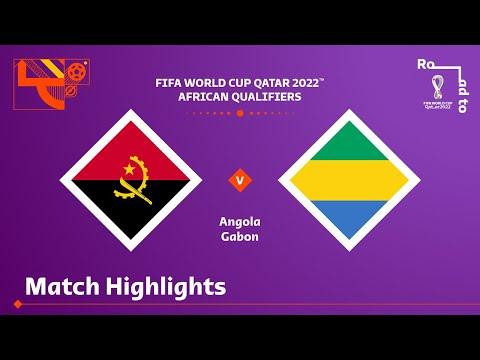 Angola v Gabon | FIFA World Cup Qatar 2022 Qualifier | Match Highlights