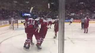 Pavel Zacha Scores Winning Goal in Czech Rep. vs Russia (4-1) - WJC2015 Slow motion