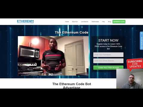 Ethereum Code Bot Scam Review