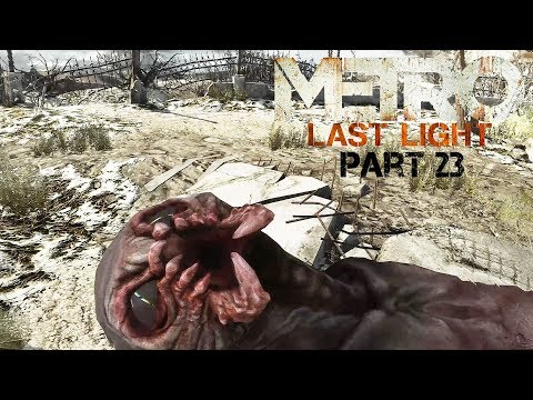 Metro: Last Light (Redux) - #23 The Crossing - (Stealth/All Notes) - No Commentary |