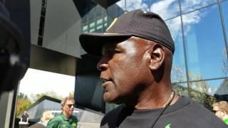 Gary Campbell updates Royce Freeman status