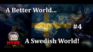 Hearts of Iron 4 - UPDATED MODERN DAY MOD! - Sweden! - Part 4