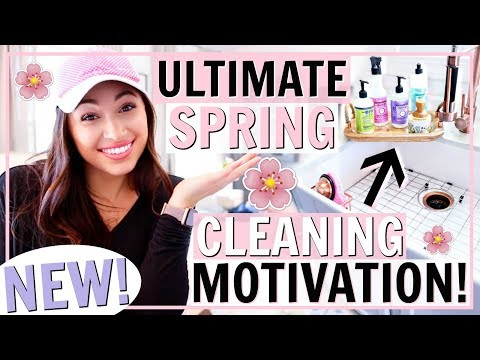 NEW! SPRING CLEANING MOTIVATION 2019! CLEAN MY HOUSE WITH ME! | Alexandra Beuter