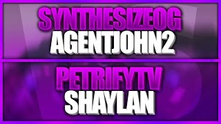 SynthesizeOG & AgentJohn2 vs. PetriFyTV & Shaylan007 | ROBLOX Phantom Forces [BETA]