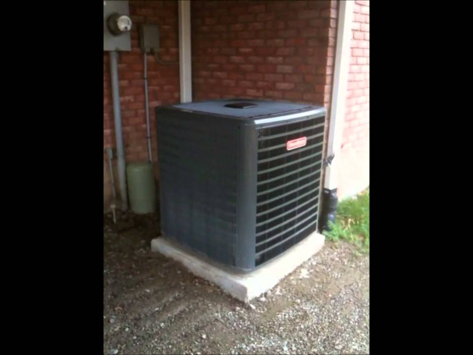 New Goodman Furnace And Air Conditioner Install Supplied
