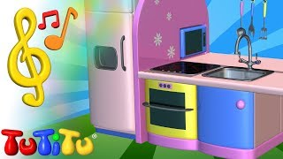 TuTiTu Spielzeug und Lieder auf Englisch | Küche