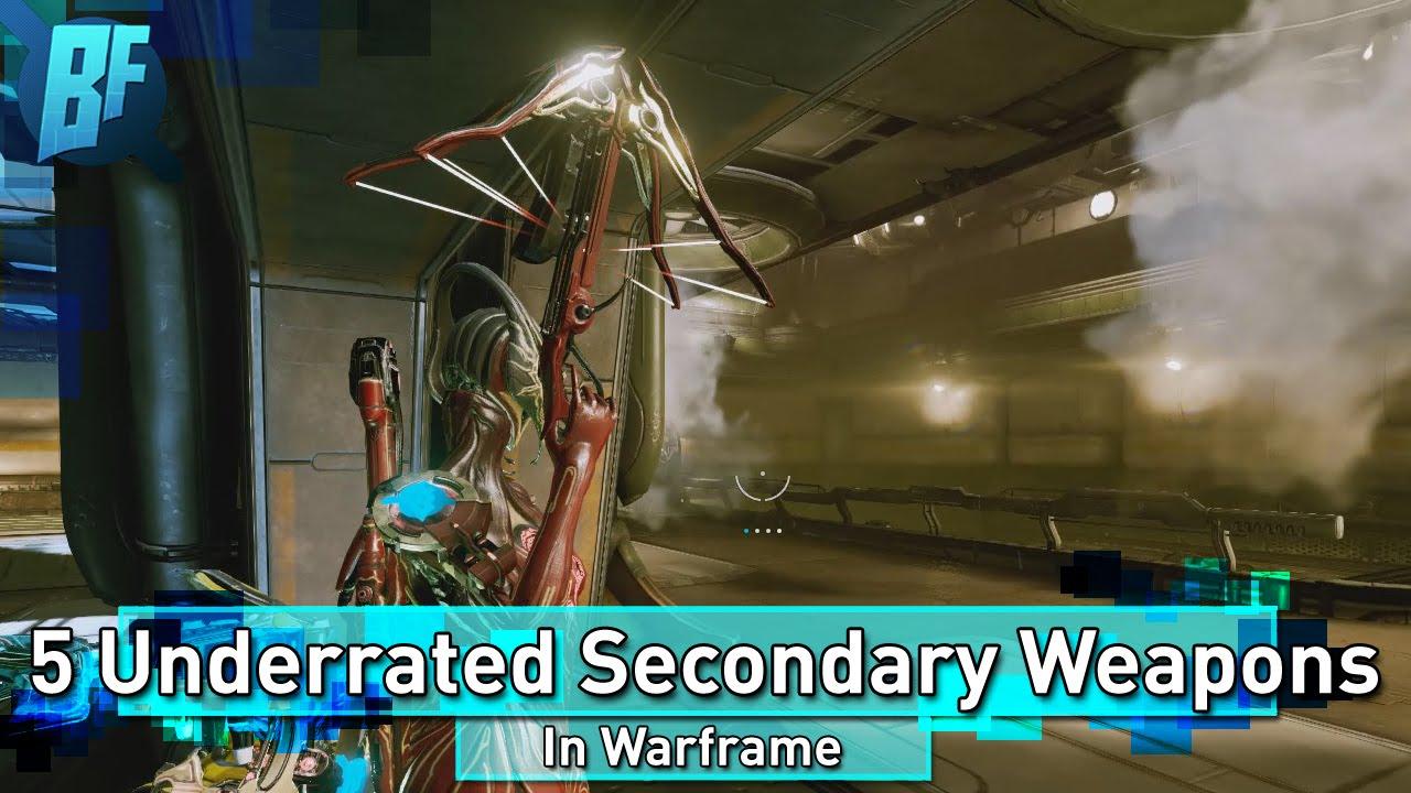 Warframe 5 underrated secondary weapons youtube malvernweather Images
