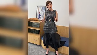 video: Watch: Australian MP wears bin bag to call out  'rubbish' sexist remarks in media article