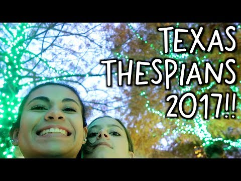 Texas Thespians VLOG 2017!!  |  Jazzy Anne