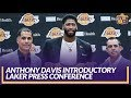 Lakers Press Conference: AD Talks Waiving Trade Kicker for Kawhi & Learning About Trade