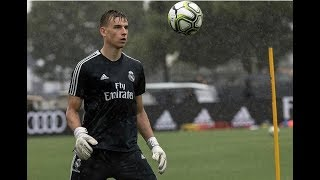 ANDRIY LUNIN | Real Madrd CF First Actions
