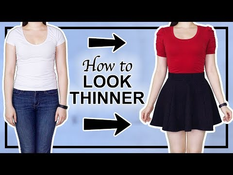 how to look thinner. http://bit.ly/2Xc4EMY