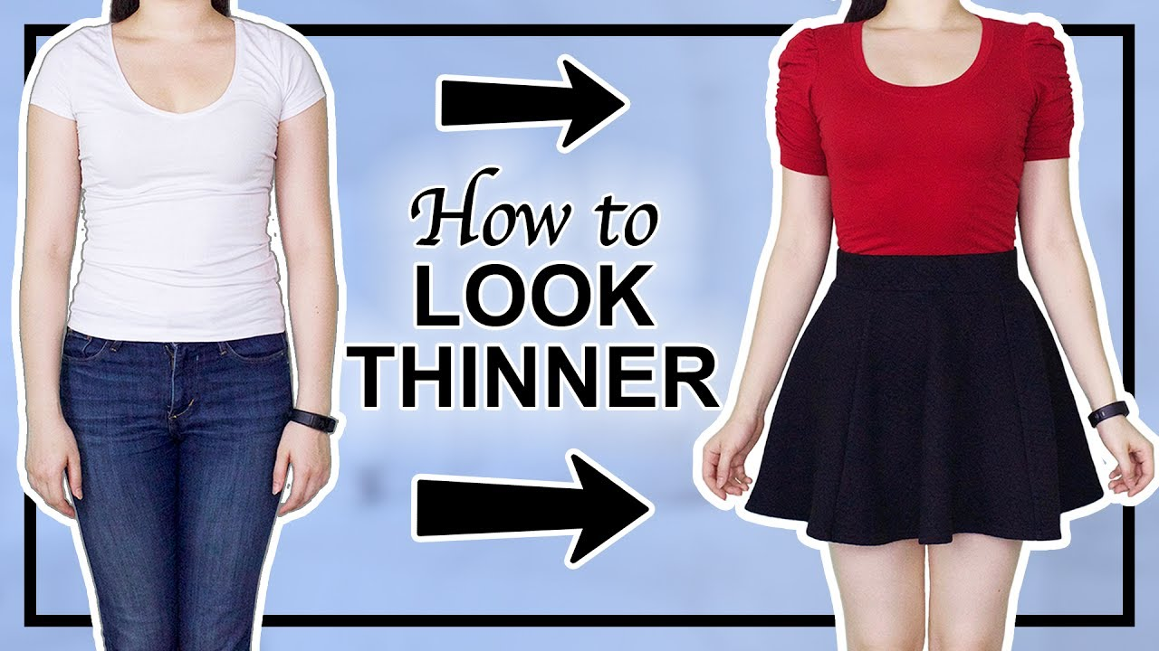 febd7def80b 😱 7 Ways to LOOK THINNER INSTANTLY