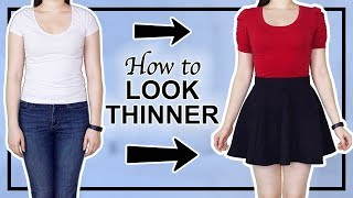 😱 7 Ways to LOOK THINNER INSTANTLY | Life Hacks 💋