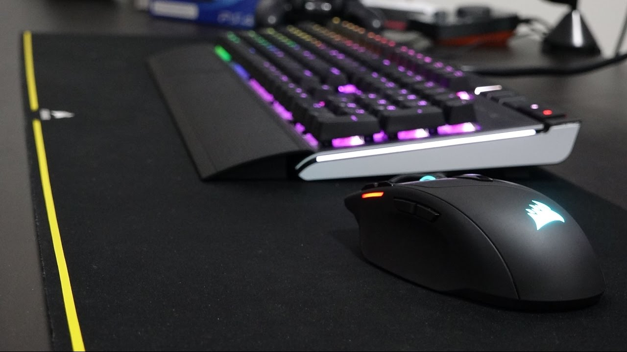 ac95370a289 Corsair Sabre RGB Gaming Mouse Review! - YouTube