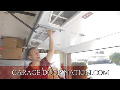 garage door nationHow A Garage Door Works by Garage Door Nation  YouTube