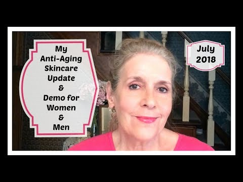 At 64 - Anti-Aging Skincare Routine & Demo for Women & Men-July 2018
