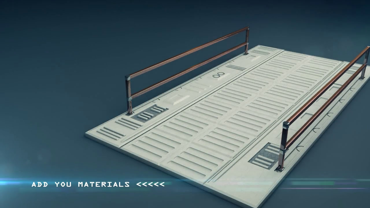 Free Scifi Elements Set - 3d Models (Obj / 3ds / Fbx Included)  Mac Mave  Studios 01:13 HD
