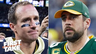 Drew Brees or Aaron Rodgers: Which QB is under more pressure in the NFC? | First Take