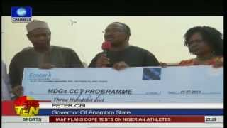 Anambra state govt gives N75m grant to 5 LGAs